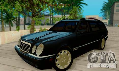 Mercedes-Benz E320 Wagon для GTA San Andreas вид слева