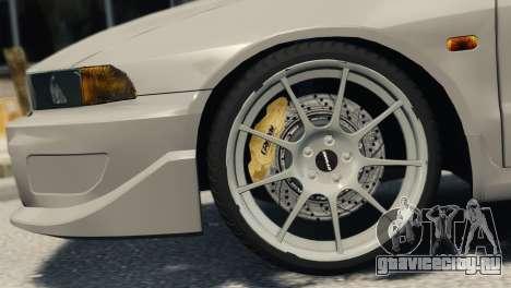 Mitsubishi Galant8 VR-4 для GTA 4 вид сзади слева