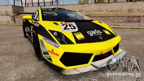 Lamborghini Gallardo LP560-4 GT3 2010 Gads для GTA 4