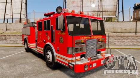 Fire Truck v1.4A LSFD [ELS] для GTA 4
