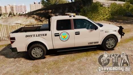 Ford F-150 2010 Liberty City Service Truck [ELS] для GTA 4 вид слева