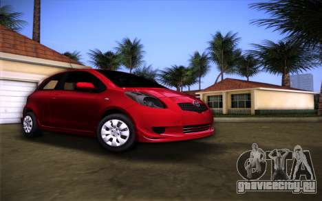 Toyota Yaris для GTA Vice City
