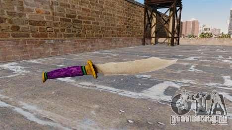 Нож -Joker- для GTA 4