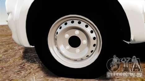Toyota Hilux 2014 для GTA 4 вид сзади