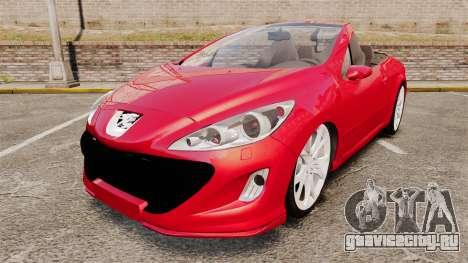 Peugeot 308 CC для GTA 4