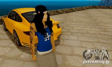 Ophelia v2 для GTA San Andreas второй скриншот