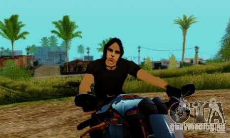 Glenn Danzig Skin для GTA San Andreas четвёртый скриншот