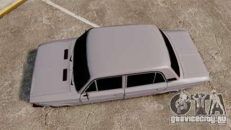 ВАЗ-2106 Жигули БУНКЕР для GTA 4 вид справа