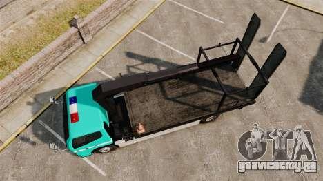 Mitsubishi Fuso Canter Japanese Auto Rescue для GTA 4 вид справа