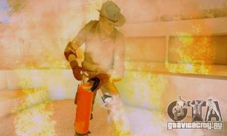 Resident Evil Apocalypse S.T.A.R.S. Sniper Skin для GTA San Andreas шестой скриншот