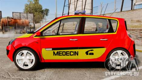 Renault Scenic Medicin v2.0 [ELS] для GTA 4 вид слева