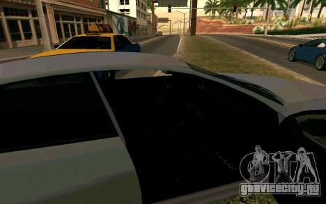 GTA V Obey Tailgater для GTA San Andreas вид сзади слева