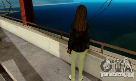 Kim Kameron для GTA San Andreas второй скриншот