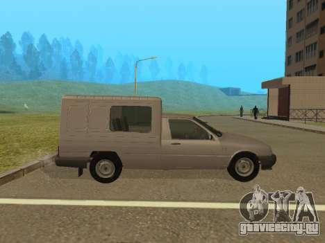 ИЖ 2717-90 для GTA San Andreas вид сзади слева