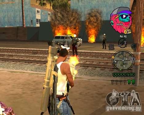 C-HUD Lion для GTA San Andreas второй скриншот