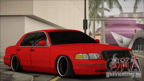 Ford Crown Victoria для GTA San Andreas вид слева