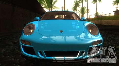 Porsche 911 Carrera GTS 2011 для GTA San Andreas вид сбоку
