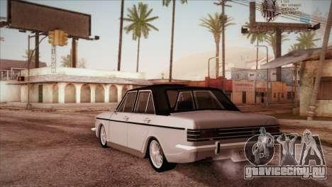 Peykan 48 Blackroof для GTA San Andreas вид сзади слева