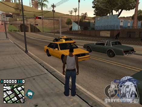 C-HUD Rifa in Ghetto для GTA San Andreas