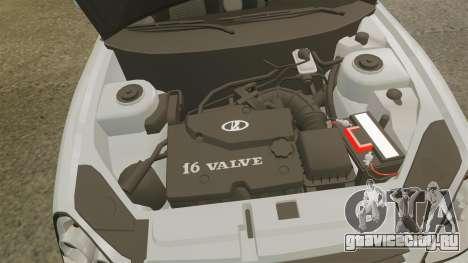 ВАЗ-2170 Lada Priora v2.0 для GTA 4 вид сзади
