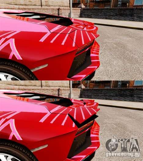 Lamborghini Aventador LP700-4 2012 [EPM] Miku для GTA 4 вид изнутри
