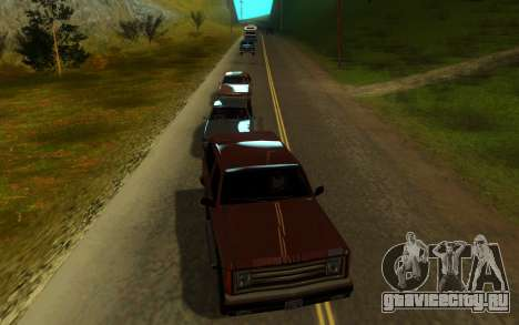 Sweet ENB Next Generation для GTA San Andreas пятый скриншот