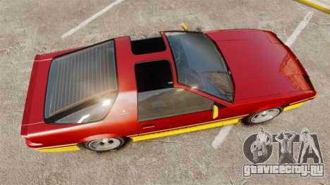 Imponte Ruiner new wheels для GTA 4 вид справа