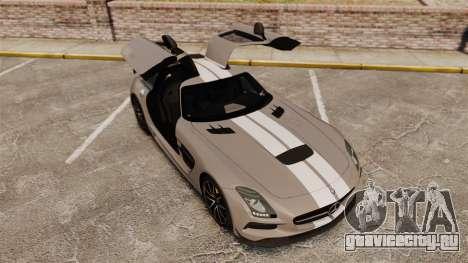 Mercedes-Benz SLS 2014 AMG NFS Stripes для GTA 4 вид сверху