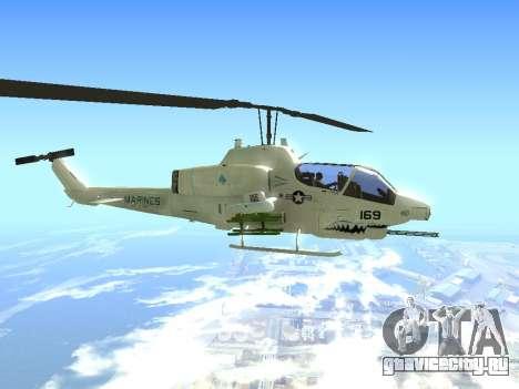 AH-1W Супер Кобра для GTA San Andreas