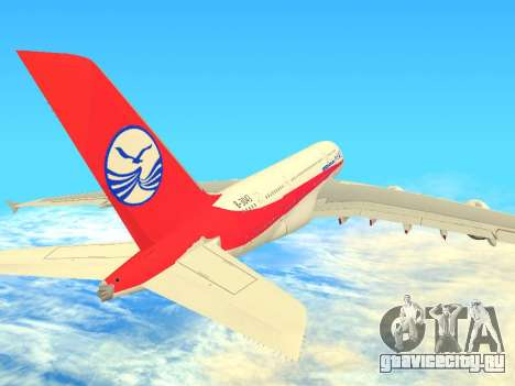 Airbus  A380-800 Sichuan Airlines для GTA San Andreas