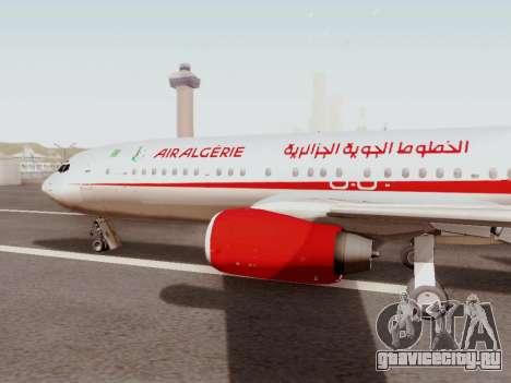 Boeing 737-800 Air Algerie для GTA San Andreas вид слева