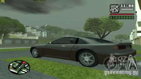 Weather Menu для GTA San Andreas третий скриншот