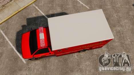 Brute LSFD Paramedic для GTA 4 вид справа