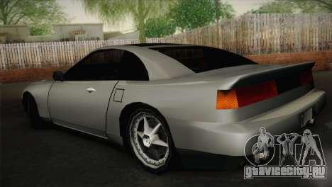 New Euros V1 для GTA San Andreas вид слева