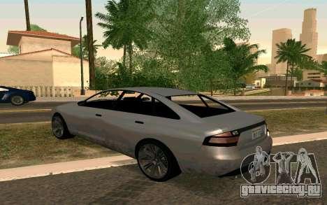 GTA V Obey Tailgater для GTA San Andreas вид слева