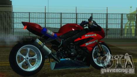 Kawasaki Ninja ZX-6R для GTA San Andreas вид слева