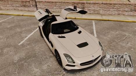 Mercedes-Benz SLS 2014 AMG Driving Academy v1.0 для GTA 4 вид сверху