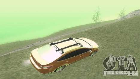 Ford Focus Sedan Hellaflush для GTA San Andreas вид изнутри