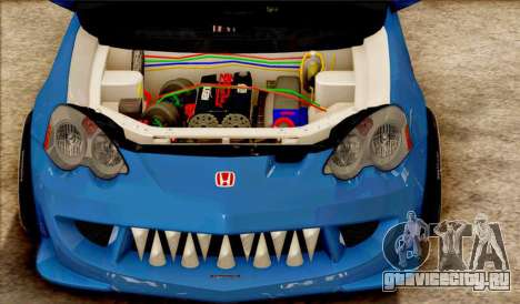 Honda Integra Mugen Type R для GTA San Andreas вид слева