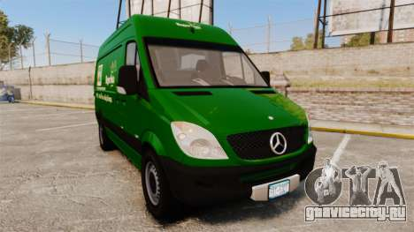 Mercedes-Benz Sprinter 2500 2011 Hungarian Post для GTA 4