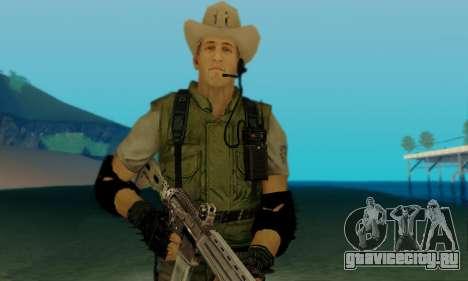 Resident Evil Apocalypse S.T.A.R.S. Sniper Skin для GTA San Andreas четвёртый скриншот