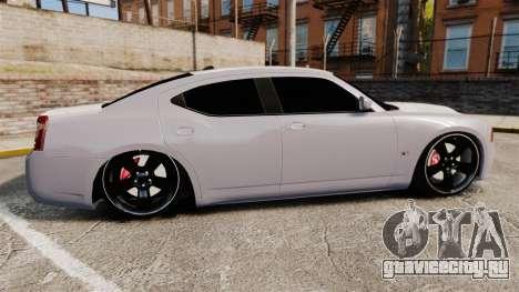Dodge Charger SRT8 2007 для GTA 4 вид слева
