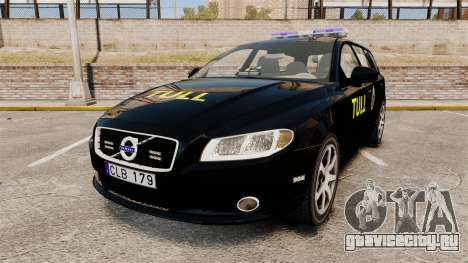 Volvo V70 Swedish TULL [ELS] для GTA 4