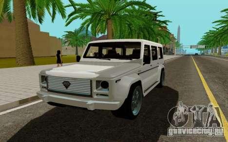 Benefactor DUBSTA для GTA San Andreas