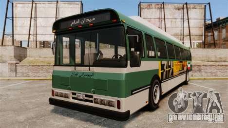 Иранский раскрас автобуса для GTA 4