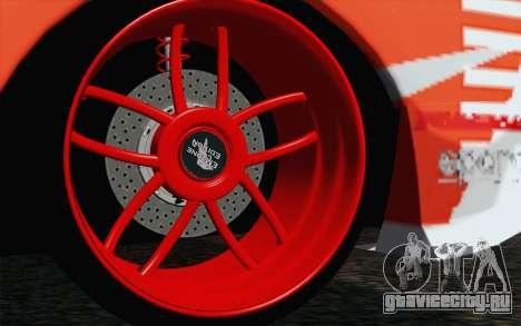 Nissan Skyline GT-R32 для GTA San Andreas вид сзади слева