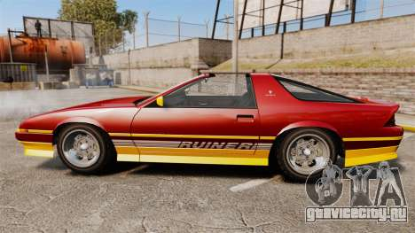 Imponte Ruiner new wheels для GTA 4 вид слева