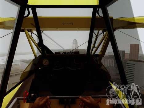 Grumman G-164 AgCat для GTA San Andreas вид сбоку