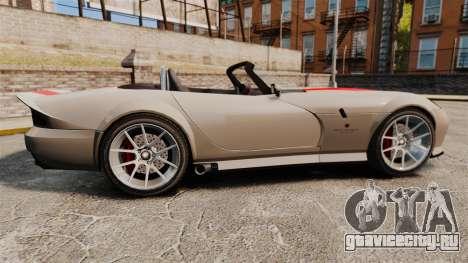 Bravado Banshee new wheels для GTA 4 вид слева