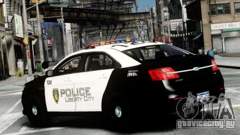 Ford Police Interceptor LCPD 2013 [ELS] для GTA 4